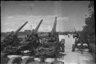 На выставке трофеев. Москва, 1945.