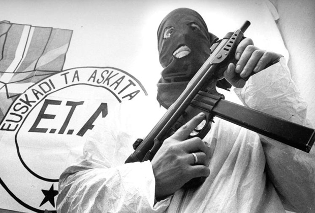 Боец ETA Джон Сира, получивший 268 лет тюрьмы