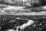 Вид на Лондон со смотровой площадки, находящейся на вершине The Shard— самого высокого здания Лондона.