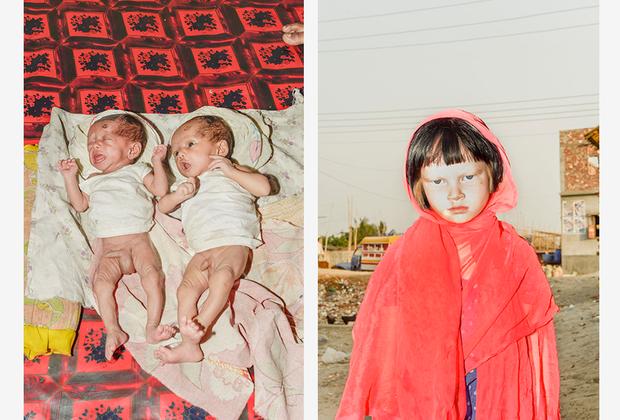 «Это люди, которых мы не видим. Цель моего проекта — запечатлеть сюрреалистичные моменты, наполненные отчаянием этих незаметных для всех людей», — признался фотограф.
