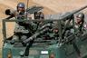 Латвийские солдаты во время ежегодных военных учений