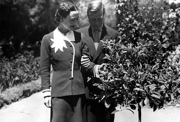 Герцог и герцогиня Виндзорские в своем доме в Антибе, конец 1930-х годов
