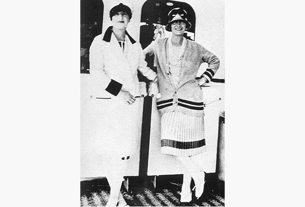 Габриэль Шанель в лондонском отеле, 1930-е годы