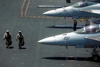 Американская авиация приступила к бомбардировкам позиций ИГ в Сирии