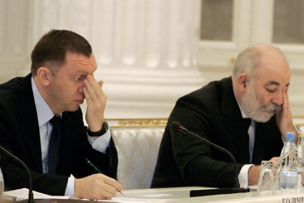 Олег Дерипаска и Виктор Вексельберг
