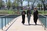 Благоустройство районного парка стало важным шагом к преображению всего города. Объект расположен не в центре Грозного, а ближе к периферии. Рядом с ним находятся основные административные здания и школы, две частные непосредственно выходят своими фасадами на парк, и вблизи находятся еще порядка пяти школ.