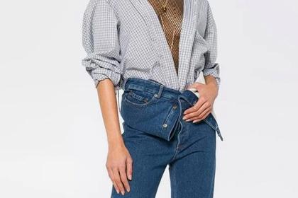 Вдополнение к«голым» джинсам: итальянский бренд создал «полуобнаженный» пиджак