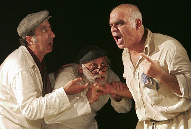 Фестиваль современной пьесы «Новая драма», cпектакль «Физиология рода» на сцене театра «Практика»