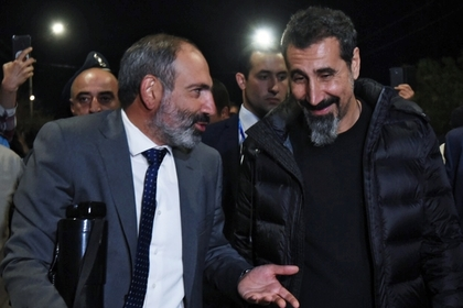 Никол Пашинян и Серж Танкян