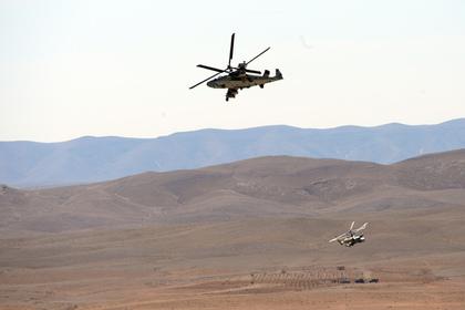 В Сирии разбился российский боевой вертолет Ка-52