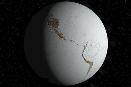 Названы условия превращения Земли в ледяной шар