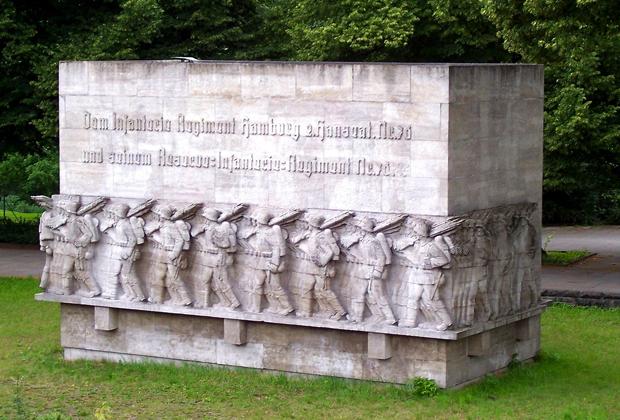 Памятник солдатам 76-го пехотного полка