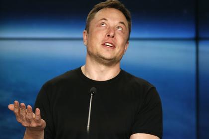 Илон Маск потратил 10 миллионов долларов на акции своей компании