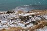 Остров омывается Атлантическим и Северным Ледовитым океанами. На северном побережье располагается город Хусавик, из которого в открытое море каждый день отправляются экскурсии для желающих понаблюдать за китами в естественной среде обитания. А на скалистом северо-западе, недалеко от местечка Блендуоус, можно наткнуться на лежбища морских котиков.
