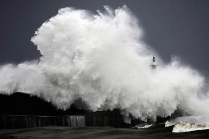 Зафиксирована самая большая волна в Южном полушарии