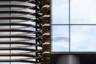 Сооружение цвета позолоченной деревянной скульптуры возведено по проекту московского бюро Асадова. Силуэт терминала напоминает парящее крыло.