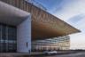 А это аэропорт Большое Савино в Перми. Новый терминал старой столицы Урала уступает масштабами екатеринбургскому, но по местным меркам это очень нерядовое здание.