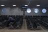 На фото — интерьеры старого аэропорта в Ростове-на-Дону. «Советский аэровокзал здесь был одним из самых эффектных по архитектуре (индивидуальный проект 1970-х), но за полвека город уже добрался многоэтажной застройкой до летного поля», — поясняет Васильев.