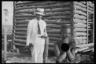 Клиент службы реабилитации чернокожих. Снимок Артура Ротштейна.