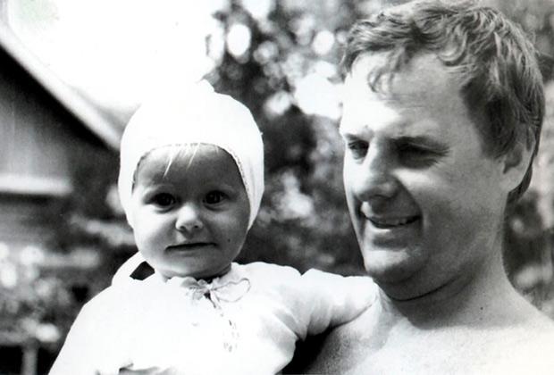 Анатолий Собчак с дочерью Ксенией