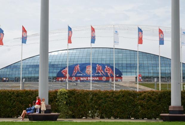 Ледовый дворец «Большой» в Сочи
