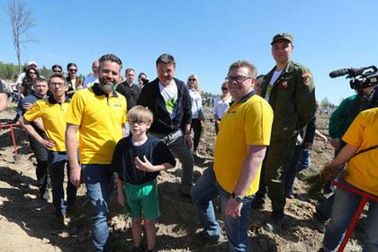 Губернатор Московской области оценил акцию «Лес Победы»