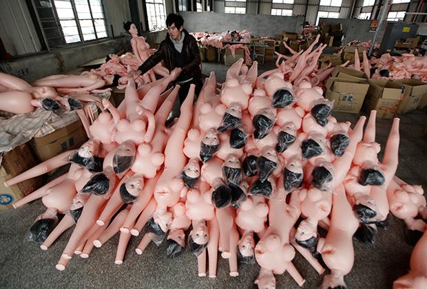 Японцы отдают должное секс-куклам