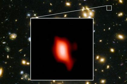 Найдены самые далекие отЗемли следы кислорода