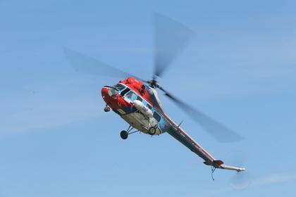 Вертолет Ми-2 разбился на Ставрополье