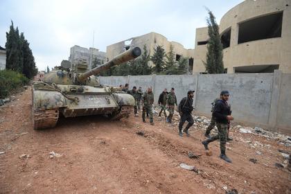 В Сирии начали восстанавливать освобожденный от боевиков город