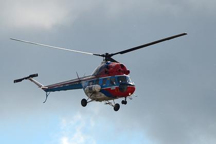 На Ставрополье попытались скрыть следы катастрофы и закопали вертолет