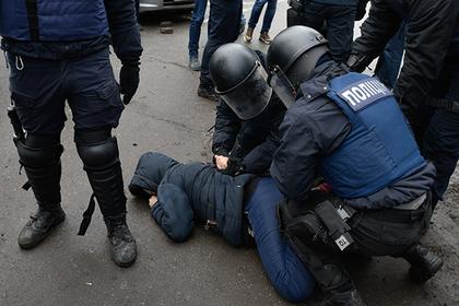 На Украине заявили о задержании российских шпионов с портретом Путина