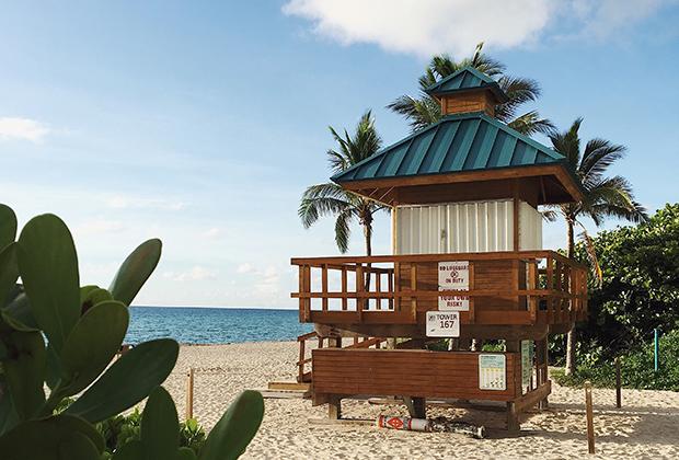 Пляж Санни-Айлс, Майами, США