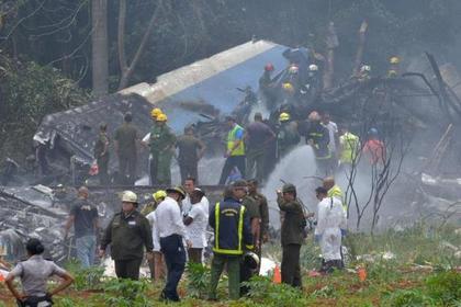 На месте крушения Boeing 737 на Кубе нашли выживших