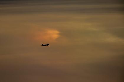 В Москве аварийно сел Boeing с отказавшим двигателем