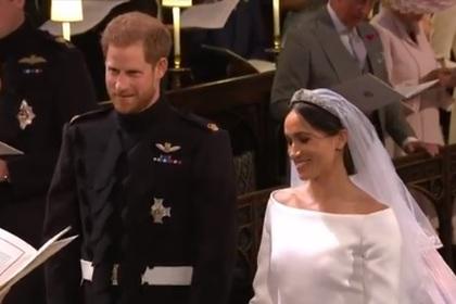 Британский принц Гарри и Меган Маркл стали мужем и женой