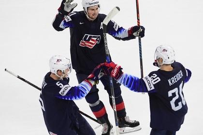 США разгромили Канаду и стали третьими на чемпионате мира по хоккею