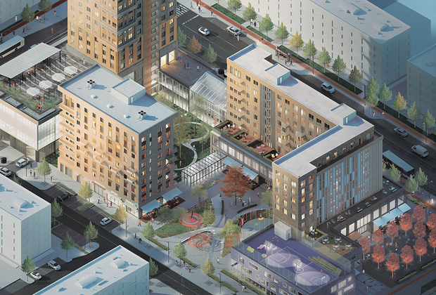 Проекты победителей конкурса будут использоваться при строительстве жилья стандарт-класса в российских городах, их решения будут использованы и при благоустройстве городской среды.