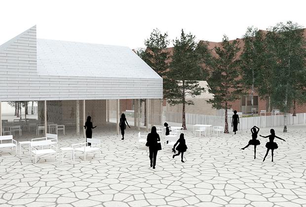 Проект словенского архитектурного бюро Grupo HDOO награжден в номинации «Малоэтажная модель застройки»  за «нестандартный взгляд на жизнь и устройство квартир».