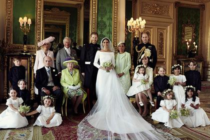 Опубликованы первые официальные фотографии со свадьбы принца Гарри