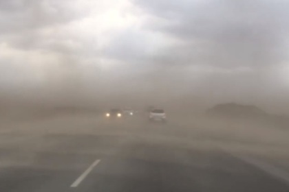 Тюмень накрыла апокалиптическая песчаная буря
