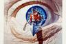 Возможно, самая эффектная работа Голда могла и не увидеть свет: на американском плакате фильма Джона Бурмена фигурировали только река и торчащие из нее руки, которые держали ружье. Но для зарубежного проката продюсеры хотели нечто более динамичное — и Голд создал сюрреалистический, мгновенно напоминающий «Андалузского пса» образ.