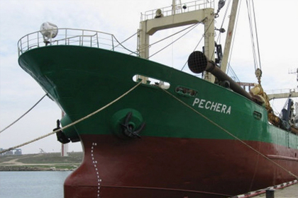 Украина арестовала российское судно
