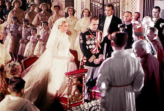 Бракосочетание Грейс Келли и князя Монакского Ренье III