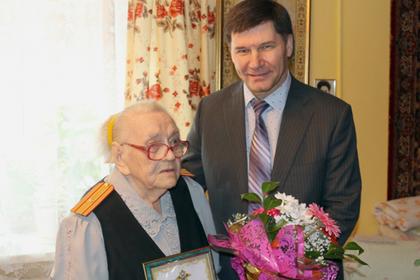 Россиянка стала майором полиции в 100 лет