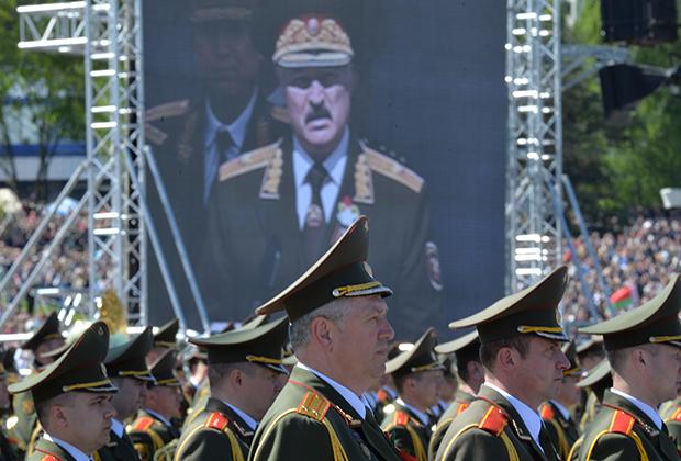 Выступление Александра Лукашенко на празднования 70-летия Победы в Великой Отечественной войне
