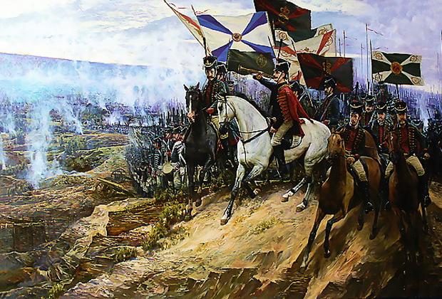 Дмитрий Долгов «Отряд генерала Бородина в Дубровно. 1812 год»