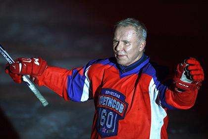 Фетисов позвал Ди Каприо сыграть в хоккей на плавучей льдине