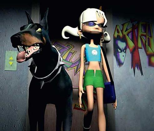 Согласно официальной версии, автором образа персонажа Глюк'Oza является сама Наталья Ионова. Профессиональные художники и специалисты по 3D-графике занимались лишь его адаптацией и воплощением.