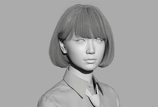 В отличии от Шуду Грэм и Микелы Соузы создатели Саи с самого начала не скрывали, что она виртуальный персонаж, и подробно рассказывали о технологии ее создания.